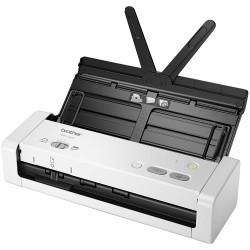 Document scanner BROTHER ADS1200, A4 2-sided document scanner 25 ppm 2-sided colour/mono scan 20 page ADF
