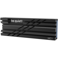 be quiet! M.2 SSD cooler MC1 COOLER, Fits single and double sided M.2 2280 modules, black