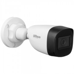 """Dahua HDCVI Bullet camera 2MP, Day&Night, 1/2.7"""" CMOS, 1920×1080 Effective Pixels, 30fps@1080P, Focal Length 2.8 mm(Field of view 101°), 0.02Lux/F1.9, 0 Lux IR on, IP67, DV12V 2.7W, outdor instalation."""