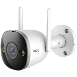 """Imou Bullet 2S, full color night vision Wi-Fi IP camera, 4MP, 1/3"""" progressive CMOS, H.265/H.264, 25fps@1440, 2.8mm lens, field of view: 81°, IR up to 30m, 16xDigital Zoom, 1xRJ45, Micro SD up to 256GB, Built-in Mic&Speaker, Motion Detection,IP67."""