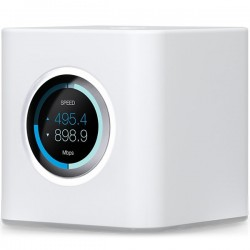 Ubiquiti AmpliFI HD Mesh Router, Dual-Band 802.11AC 3X3 MIMO Wi-Fi, Wi-Fi/Gigabit Ethernet (1) WAN, (4) LAN, 802.11ac 13 Mbps to 1300 Mbps,6.5 Mbps to 450 Mbps