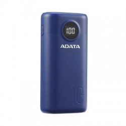 ADATA P10000 QUICK CHARGE BLUE