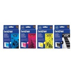 Black Ink Cartridge BROTHER (500 A4 pages at 5% coverage), DCP330C, DCP540CN, MFC5460CN