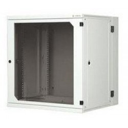 """19"""" 12U two-section wall-mounting rack, depth 600 mm with removable side panels"""