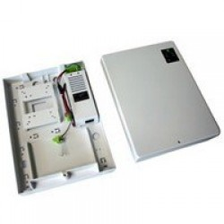 2A 12V dc power supply in plastic cabinet