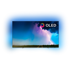 """Philips 65"""" OLED 4K TV, 3-странен Ambilight, SAPHI, 4500PPI, HDR 10+, Видео процесор P5 Perfect Picture, Dolby Vision и Dolby Atmos, Вградена Alexa,  DVB-T/T2/T2-HD/C/S/S2"""