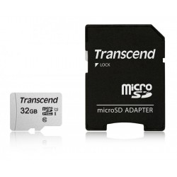 Transcend 32GB UHS-I U1 microSDHC I, Class10 with Adapter, read: up to 95MBs, 45MB/s