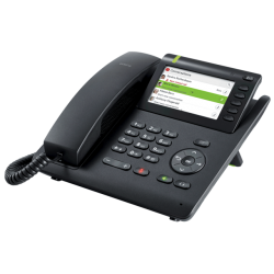 IP Unify OpenScape Desk Phone CP400, 4 Line With Display, PoE, Port, Gigabit Switch